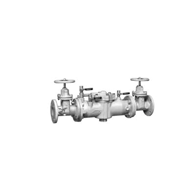 WATTS® 0122612 LF009 Reduced Pressure Zone Assembly, 2-1/2 in, Resilient Seated Gate Valve, Cast Iron Body
