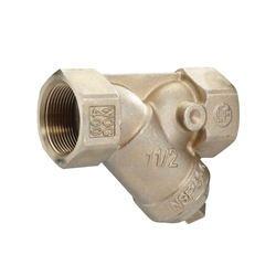 Febco® 0122979 LF650A Wye-Pattern Strainer, 1-1/2 in, FNPT, 4-7/8 in OAL, Cast Copper Silicon Alloy