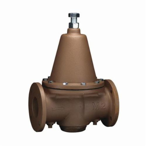 WATTS® 0298620 Pressure Reducing Valve, 3 in, Flange, 175 psi, Iron Body