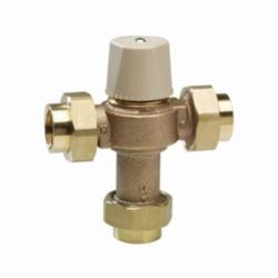 WATTS® 0559119 LFMMV Thermostatic Mixing Valve, 3/4 in, FNPT, 150 psi, 0.5 to 20 gpm Flow, Copper Silicon Alloy Body