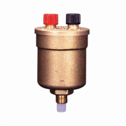 WATTS® 0590719 High Capacity Air Vent, 1.45 to 150 psi, 33 to 240 deg F, Brass