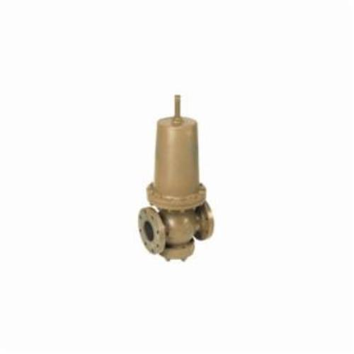 WATTS® 0681060 Direct Operated pressure Reducing Valve, 4 in, NPT, 200 psi, Cast Iron Body