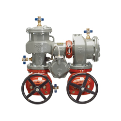 Febco® MasterSeries® 0683140 LF880V N-Pattern Reduced Pressure Zone Assembly, 2-1/2 in, Flange, Resilient Wedge Gate Valve, Ductile Iron Body