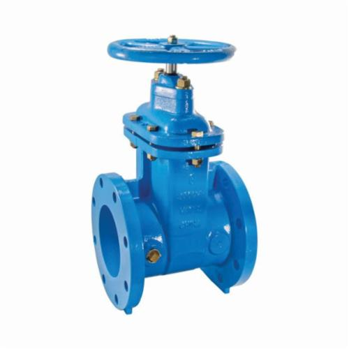 WATTS® 405-NRS-RW Lead Free Gate Valve, 3 in, Flanged, Cast Iron, Handwheel Actuator