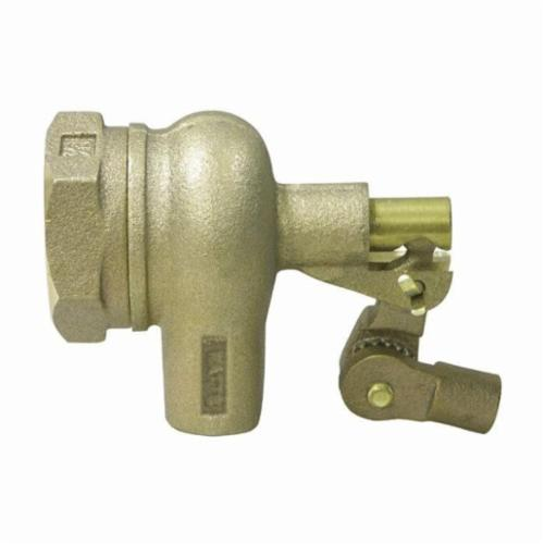 WATTS® 750 Standard Duty Mechanical Float Valve, 3/4 in, Machine Flanged x Male Straight Pipe Threaded, 53 gpm, 165 psi