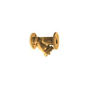 WATTS® 77F-BI Wye Strainer, 3 in, 11-5/8 in OAL, Flange Connection, 1 in NPT, Bronze