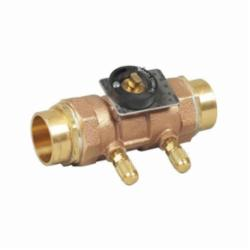 WATTS® 0856810 LFCSM-61-S Flow Measurement Valve, 3/4 in, Solder, Brass Body