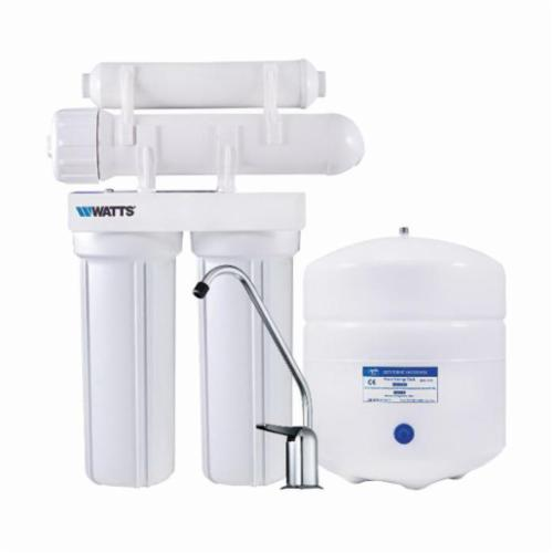 WATTS® 7100103 4 Stage Reverse Osmosis System, 16 in H