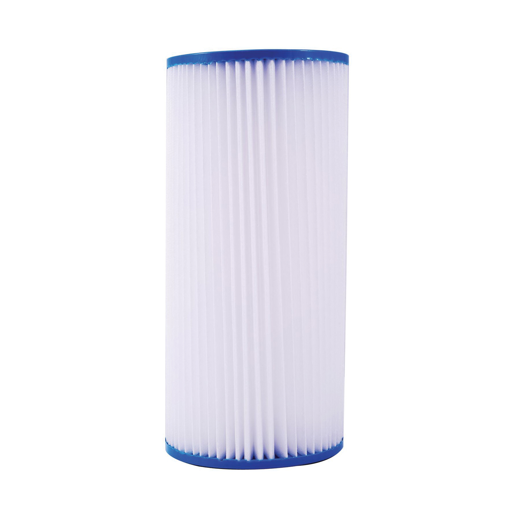 WATTS® 7100409 PWPL10FF Full Flow Pleated Filter Cartridge, 9-3/4 in L, Polypropylene