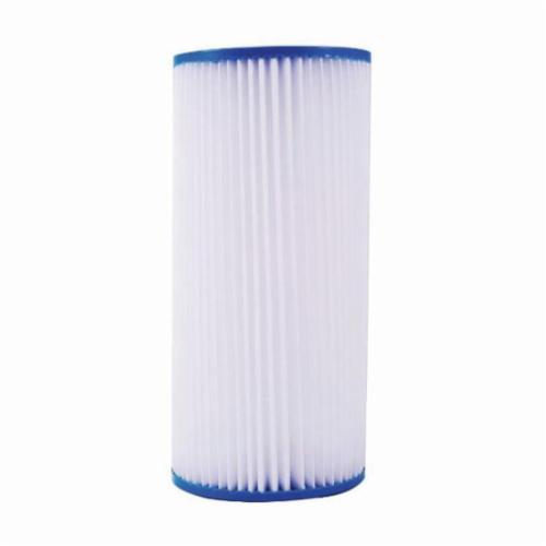 WATTS® 7100412 PWPL Pleated Filter Cartridge, 9-3/4 in L
