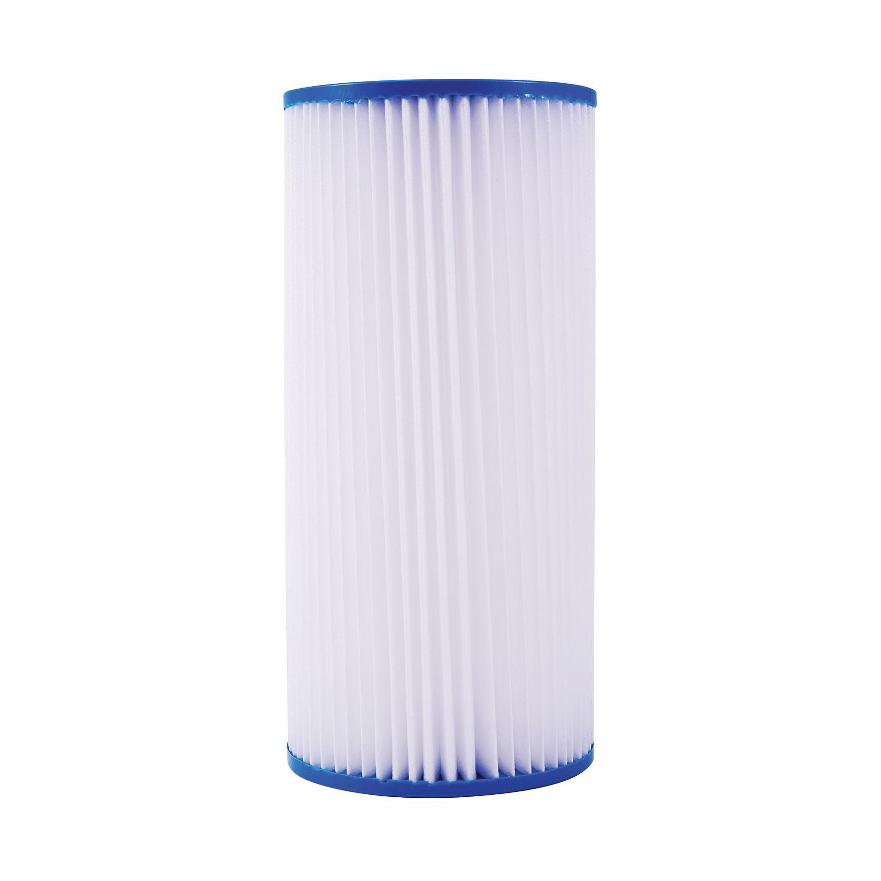 WATTS® 7100417 PWPL20FF Full Flow Pleated Filter Cartridge, 20 in L, Polypropylene