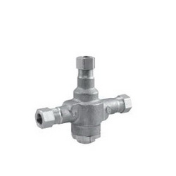 Powers™ LFE480-10 LFe480 Lavatory Tempering Valve, 3/8 in, NPT, 125 psi, 0.5 gpm, Brass Body