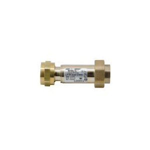 WATTS® 0072203 LF7R Dual Check Valve, 1/2 in, FNPT, Copper Silicon Alloy Body, Low Lead Compliance: Yes