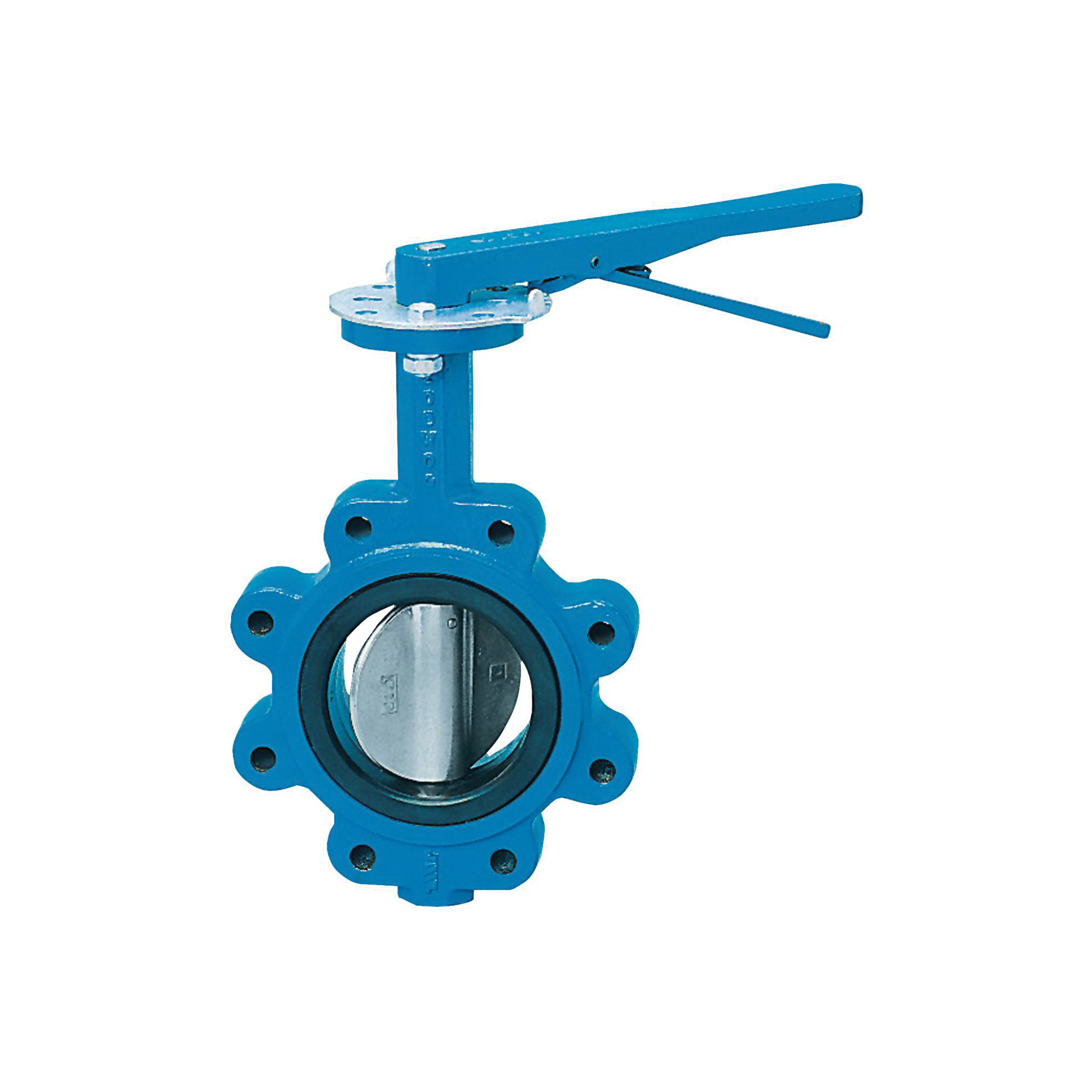 WATTS® 0525585 BF-03-M2 Full Lug Butterfly Valve, 3 in, Flange, 125/150 lb, Ductile Iron Body, Import