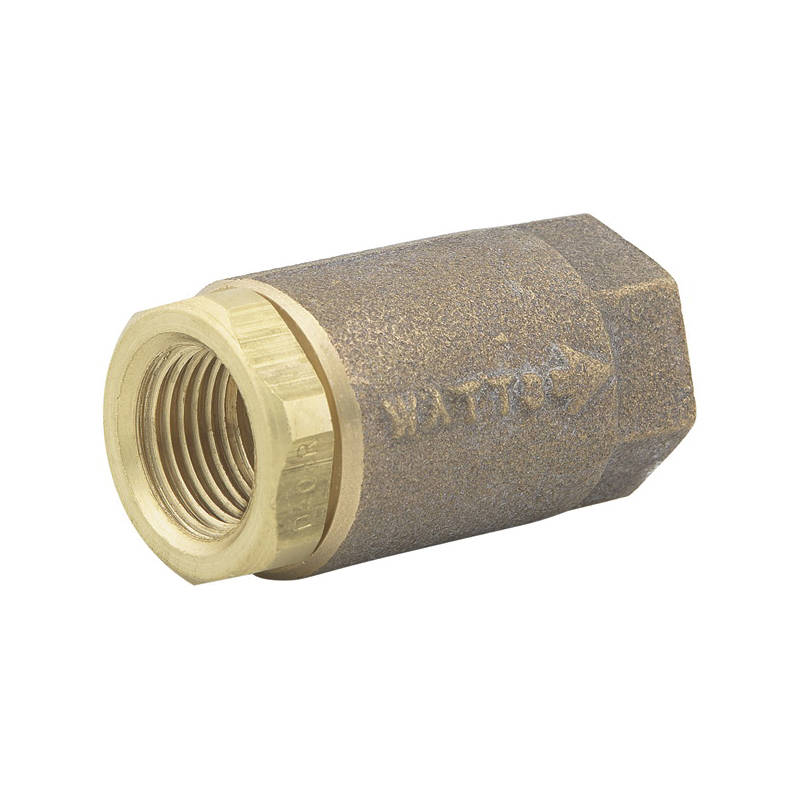 WATTS® Maxi-Flo® 0555180 LF600 Silent Check Valve, 2 in, Thread, Cast Copper Silicon Alloy Body, Low Lead Compliance: Yes