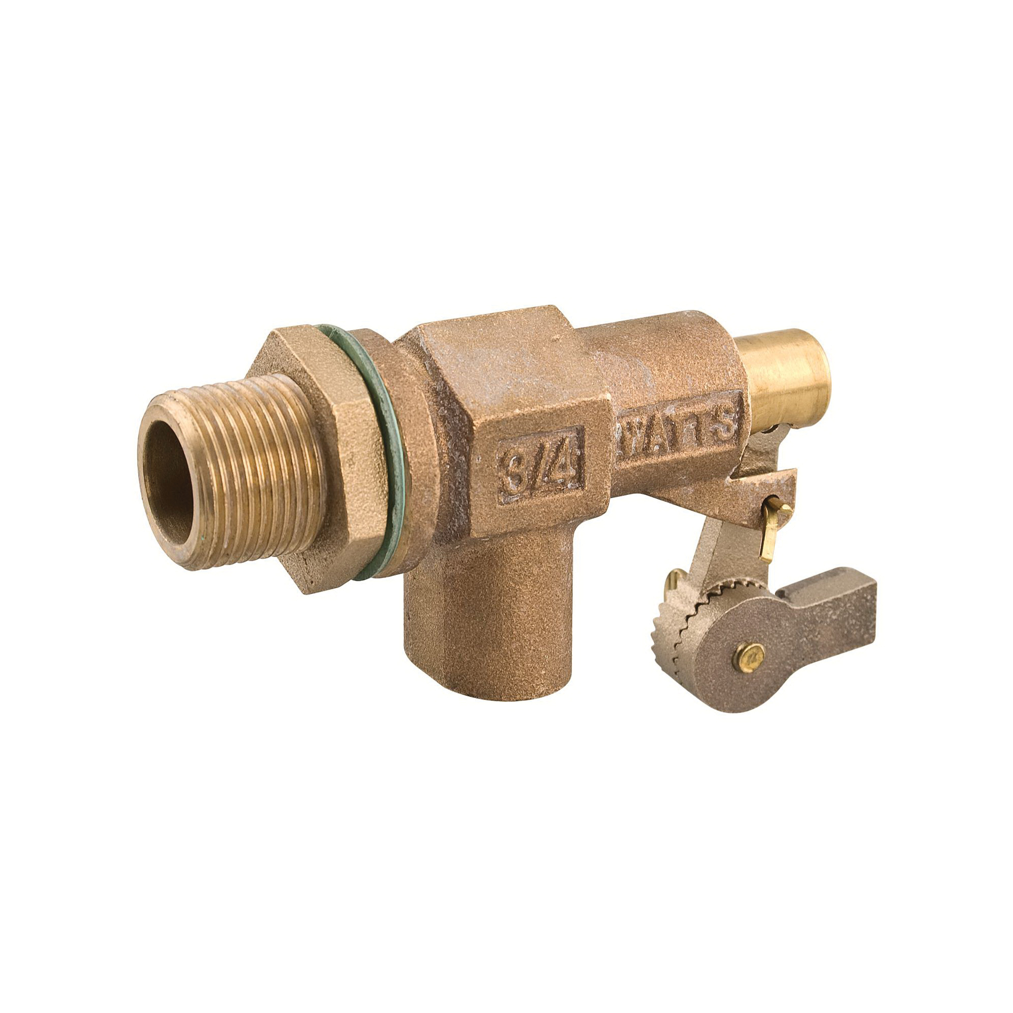 WATTS® 0780008 750 Heavy Duty Mechanical Float Valve, 3/4 in, Flange x MNPT, 40 to 60 gpm, 165 psi