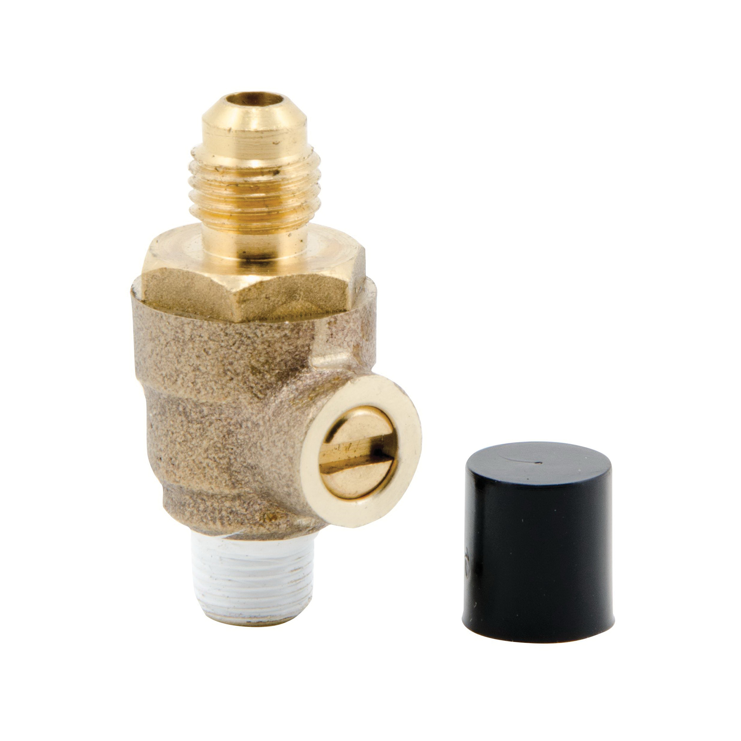 WATTS® 0792002 1/4 Turn Test Cock, For Use With 1/4 to 1 in Backflow Preventer or Isolation Valve, 1/8 in Male x SAE