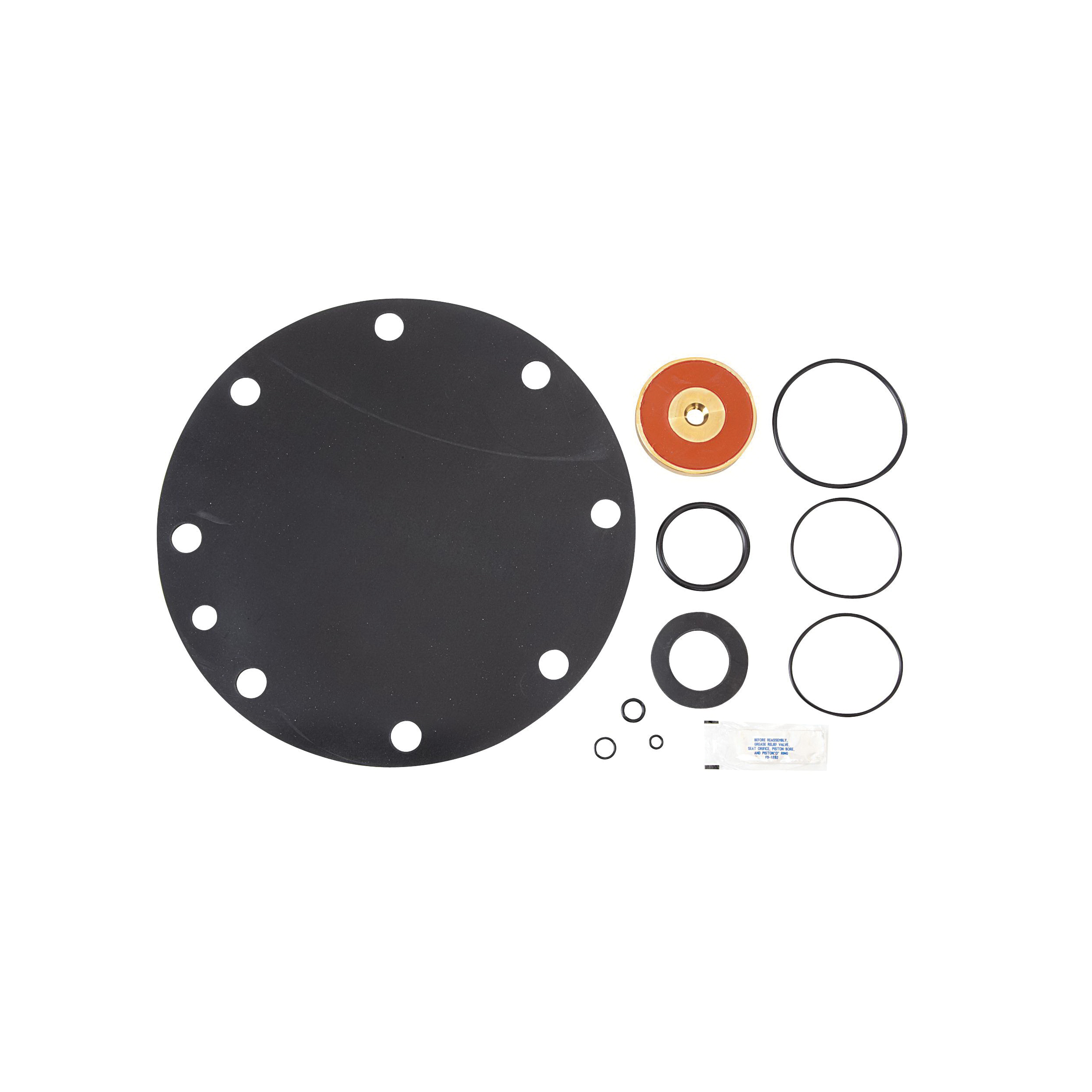 WATTS® 0794083 Relief Valve Rubber Parts Kit, For Use With 909 Series 8 to 10 in Reduced Pressure Zone Assemblies