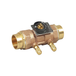 WATTS® 0856809 LFCSM-61-S Flow Measurement Valve, 1/2 in, Solder, Brass Body