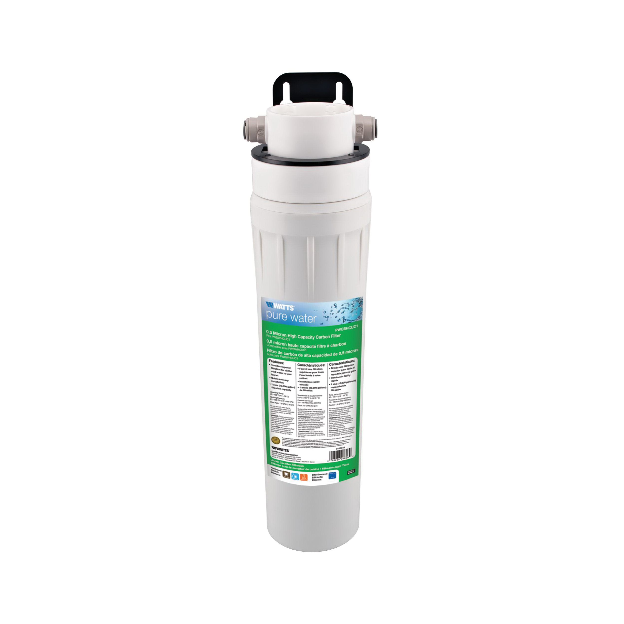 WATTS® 7100642 Replacement Filter Cartridge, 5 in W x 14-1/4 in H