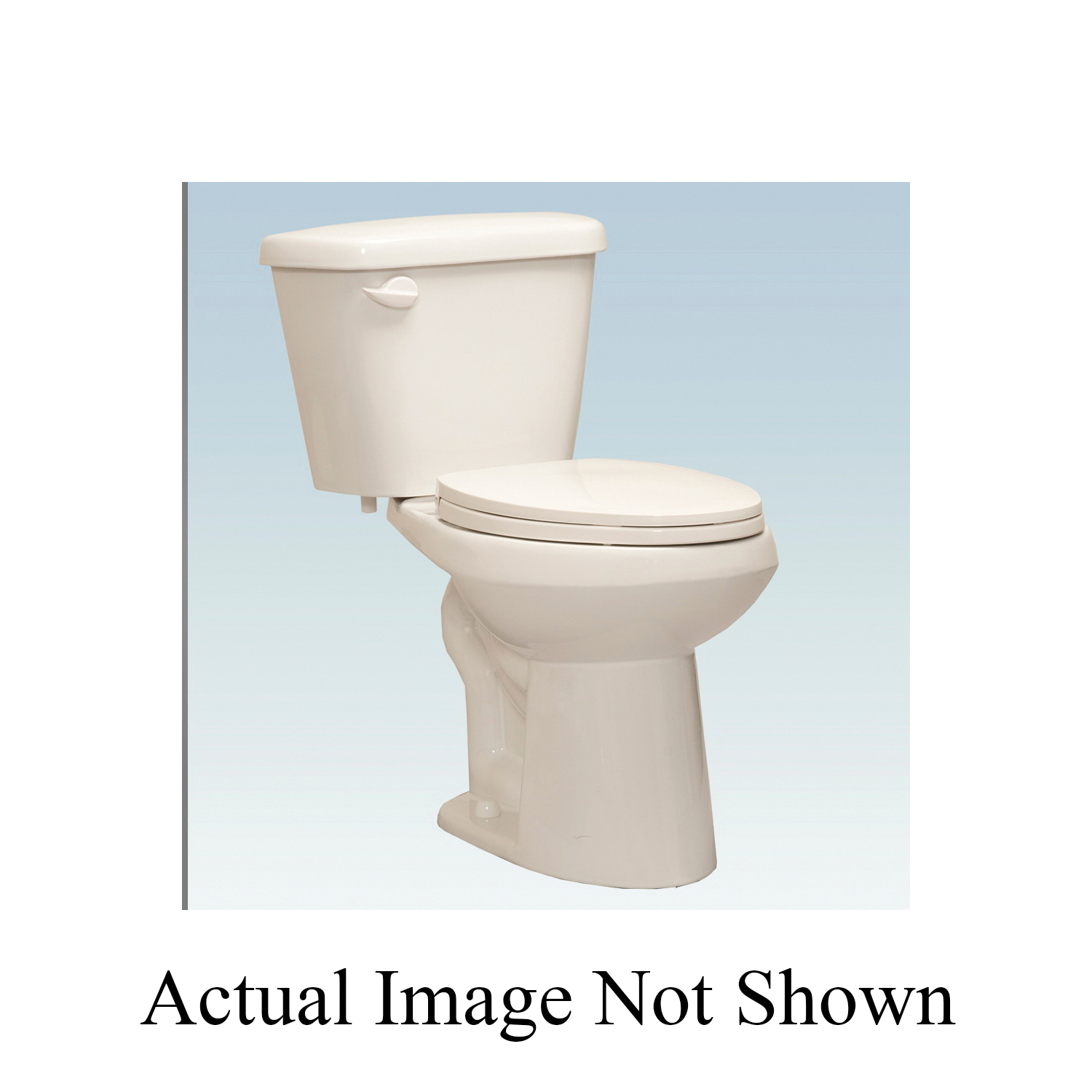 Western Pottery B872 Toilet Bowl, Elongated, 8.22 x 10.43 in, White