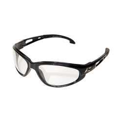 EDGE® GTSM216 Dakura Non-Polarized Safety Glass, Smoke Lens, 99.9% UVA/UVB/UVC Rays UV