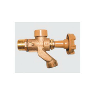 Woodford® Model 101 Anti-Siphon Wall Faucet, 3/4 x 1/2 in, Combination MNPT x FNPT, 125 psi, Domestic