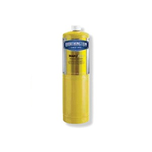 Worthington™ 332401 Hand Torch Cylinder, NRT Map Propane