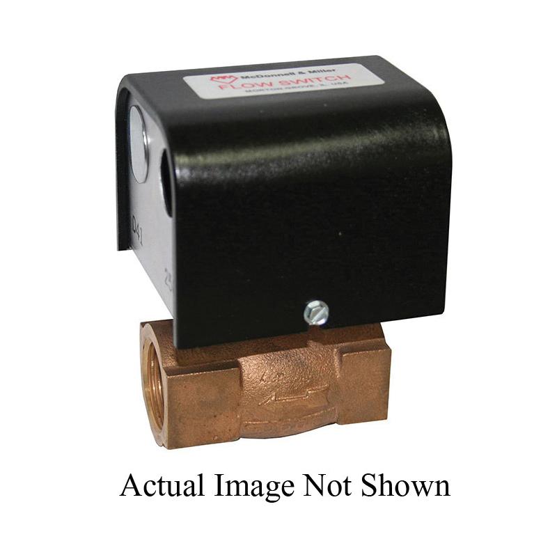 McDonnell & Miller 114760 FS5 Liquid Flow Switch, 120/240 VAC