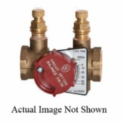 Bell & Gossett Circuit Setter Plus® 117414LF Balance Valve, 1/2 in, NPT, 400 psig, Brass Body, Domestic