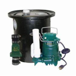 Zoeller® 105-0010 Single Phase Drain Pump, 1-1/2 in NPT Outlet, 1/3 hp, Glass Filled Polypropylene