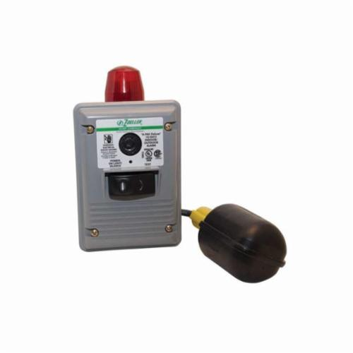 Zoeller® A-Pak Auto Reset High Water Alarm, 86 dB, Mechanical Float, Red Light, 115 VAC, Domestic