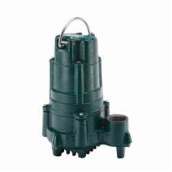 Zoeller® 140-0004 Flow-Mate 140 Single Phase Single Seal Submersible Pump, 86 gpm, 1-1/2 in NPT Outlet, 1 hp, Cast Iron
