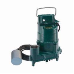 Zoeller® 153-0005 High Head Dose-Mate 150 1-Phase Single Seal Effluent Pump, 77 gpm Maximum, Automatic, 44 ft Maximum Head, 115 VAC