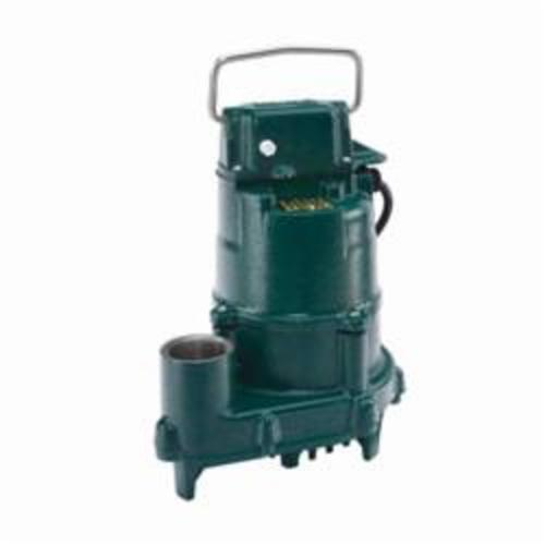 Zoeller® 152-0002 High Head Dose-Mate 150 1-Phase Single Seal Effluent Pump, 77 gpm Maximum, Non-Automatic, 38 ft Maximum Head, 115 VAC