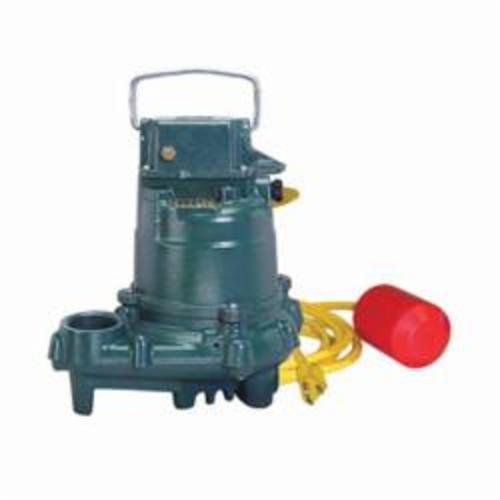 Zoeller® 2000 Single Seal High Temperature Submersible Dewatering Pump, 39 gpm, 3/10 hp, Cast Iron