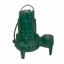 Zoeller® 270-0002 Waste-Mate 270 Single Phase Single Seal Submersible Pump, 132 gpm, 2 in NPT Outlet, 1 hp, 14-21/32 in H