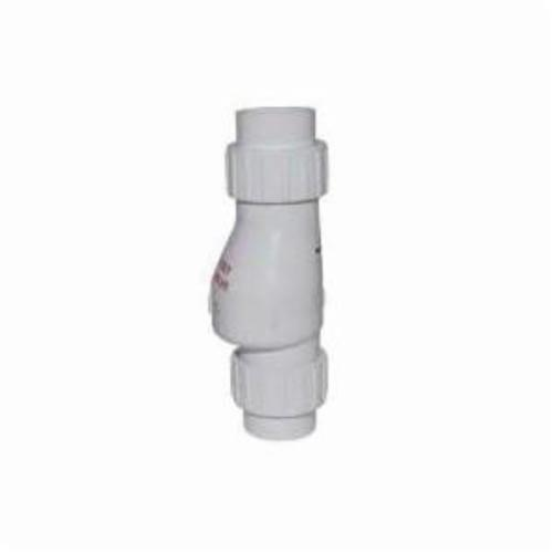 Zoeller® 30-0042 Quiet Check Valve With Union, 2 in, Solvent Weld, PVC, Domestic