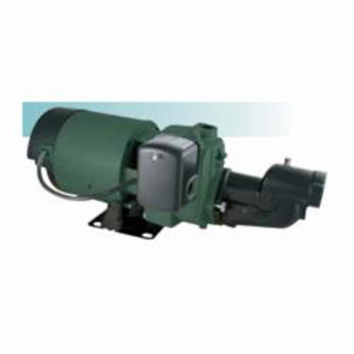 Zoeller® Model NE460 Shallow Well Jet Pump, 4.5 gpm, 1-1/4 in Inlet, 3/4 in Outlet, 1/2 hp, Cast Iron