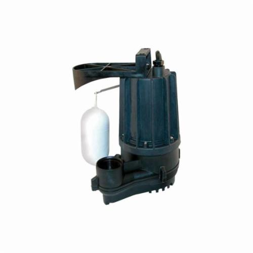 Zoeller® Aqua-Mate M72 Automatic Effluent or Dewatering Submersible Pump, 38 gpm, 1-1/2 in Outlet, 3/10 hp
