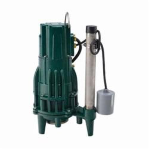 Zoeller® The Shark® 820-0011 Single Directional Grinder Pump, 46 gpm, 1-1/4 in NPT Outlet, 2 hp, Cast Iron