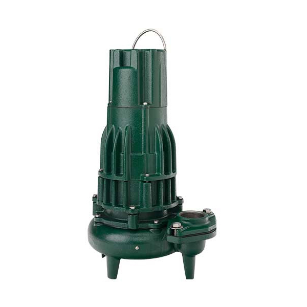 Zoeller® 284-0006 Waste-Mate 280 Three Phase Single Seal Submersible Sewage Pump, 179 gpm, 2 or 3 in FNPT Outlet, 1 hp, Cast Iron