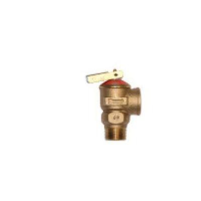 Zurn® Wilkins P1000AXL-75C Pressure Relief Valve, 3/4 in, MNPT x FNPT, Cast Brass/Bronze Body
