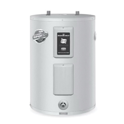 "BRADFORD RE240LN6-1NCWW 38 GAL EF.95 DUAL RATING 4500W/240V - LOWBOY WATER HEATER 32"" X 24.5"" WITH T&P * NAECA COMPLIANT W/O"