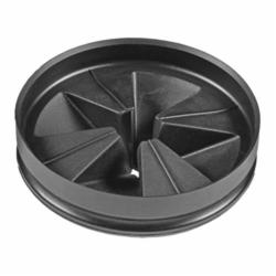 ISE QCB-AM ANTI-MICROBIAL QUIET COLLAR SINK BAFFLE (BLACK)