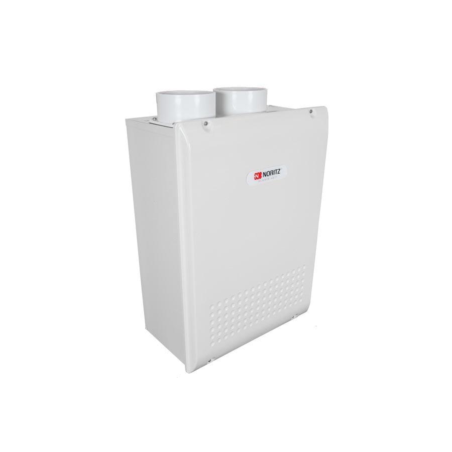 "NORITZ NRC111DV GQ-C3257WX-FF-US-NG DIRECT VENT CONDENSING WATER HEATER .92 EF 16K-199K BTU 4.6 GPM @ 80 DEG RISE VENT WITH 3"" OR 4"" PVC"