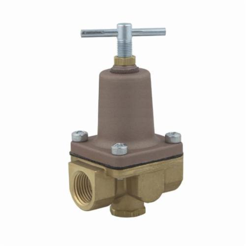 WATTS® LF26A Lead Free Small Pressure Regulator, 1/2 in, FNPT, 300 psi, Brass