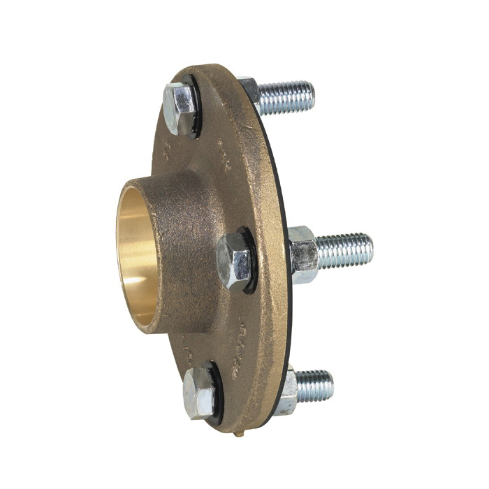 WATTS® LF3110 Lead Free Dielectric Flanged Pipe Fitting, 4 in, 125 lb, Cast Copper Silicon Alloy
