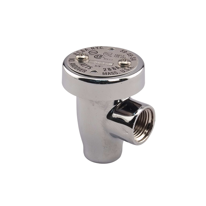 WATTS® LF288A Anti-Siphon Lead Free Vacuum Breaker, 1/4 in, FNPT, 125 psi, Brass