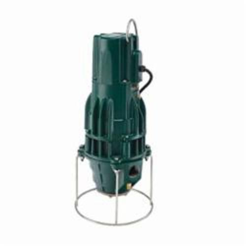 Zoeller® The Shark® E810 Progressing Cavity Grinder Pump, 14.6 gpm, 1-1/4 in NPT Outlet, 1 hp, Cast Iron